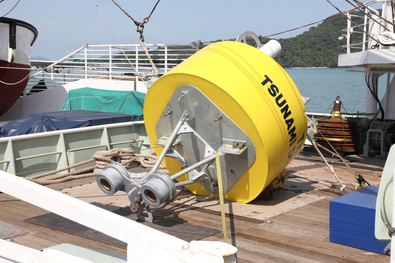 tsunami warning buoys to be installed replacing thailand